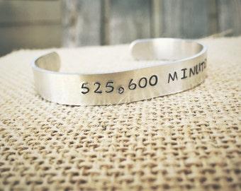 525,600 minutes-bracelet