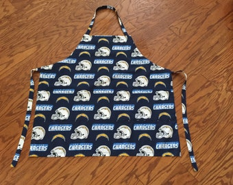 San Diego Chargers Football BBQ Apron