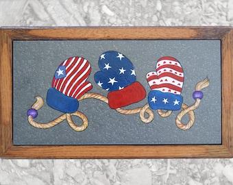 Patriotic Mittens