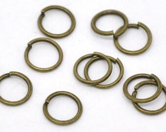 Antique Bronze Jump Rings