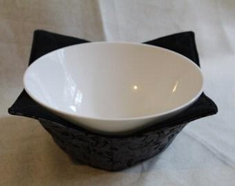 Microwave Bowl Cozy, Fabric Food Warming Bowl, Fabric Bowl Cozy, Microwave Fabric Bowl