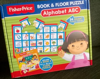 Fisherprice Alphabet Floor Jigsaw Puzzle