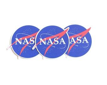 Glossy NASA Stickers