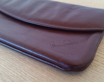 Vintage Princess Gardner leather wallet. 1980's. Made in America.  Vintage wallet.