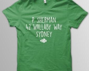 Finding Nemo Shirt Disney shirt kids 42 Wallaby Way shirt