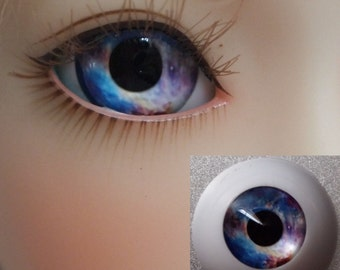 HMA3# Blue Doll Eyes for BJD Dollfie 12mm 14mm 16mm 18mm 20mm 22mm