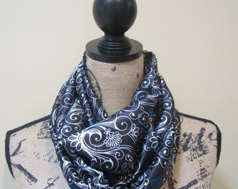 Dr Who Swirl Infinity Scarf