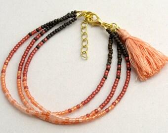 Friendship Bracelet with Tassel