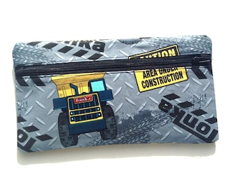 Tonka Pencil Case // Hand Made Novelty Tonka Truck Pencil Case