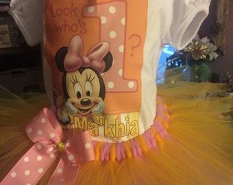 Minnie mouse tutu outfit
