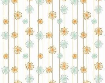 Riley Blake Good Natured Dandelion Cotton Fabric- Multi- Marin Sutton
