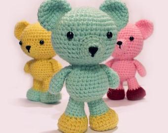 Amigurumi Bear crochet pattern pdf instant download