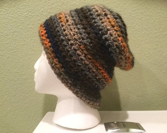 Nordic Crochet Slouchy Beanie