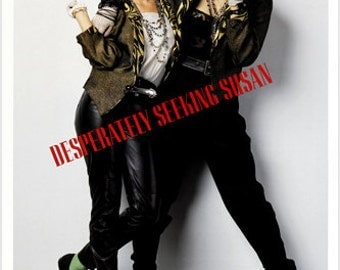 Desperately Seeking Susan Movie Poster Madonna Rosanna Arquette Comedy 24x36