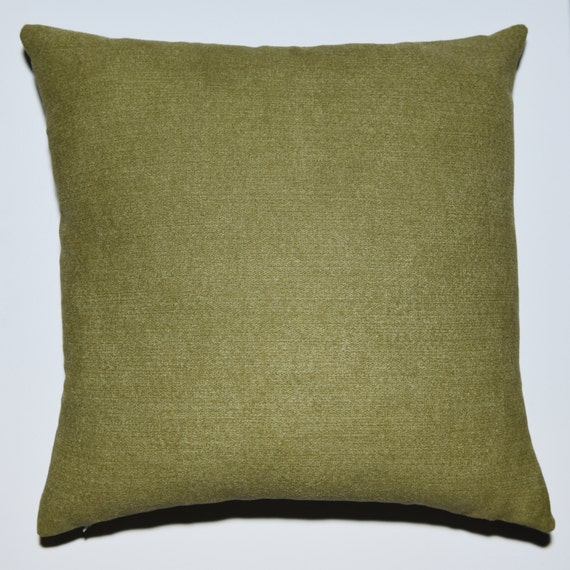 Sage Green Throw Pillow Covers : Decorative Pillow Cover Sage Green Suede-like feel
