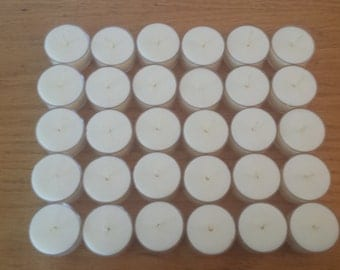 Soy Tea Lights | 30 Pack - Free Shipping