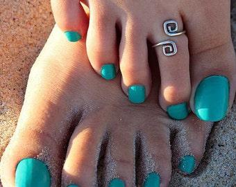 Toe Ring silver toe Jewelry, Fashion Jewelry Toe ring Body Jewelry, Adjustable silver ring, Silver Toe ring