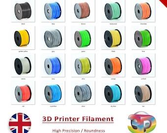 1.75mm Premium ABS 3D Pen / 3D Printing Plastic Filament (5 Metres)