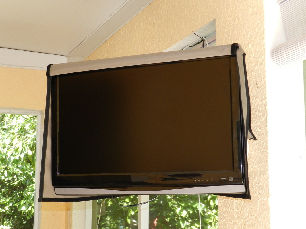 53 62 Outdoor Waterproof TV Cover Naked Full Front Flap