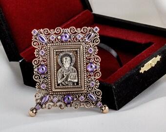 Icon of St. Nicholas (delicate)