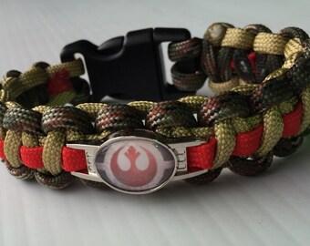 Star Wars Rebel Alliance paracord bracelet