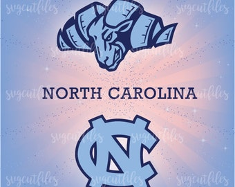 SVG North Carolina  - Cricut, Silhouette Studio cutting file, Instant Download