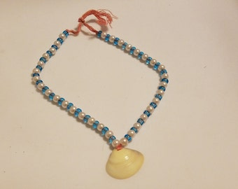 11in shell anklet