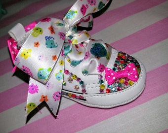 Converse Bling Baby Shoes