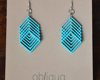 Oblique earrings 01