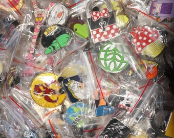 Disney World Pin Trading Lot of 50 Pins Assorted Styles Mickey Minnie Donald Princess
