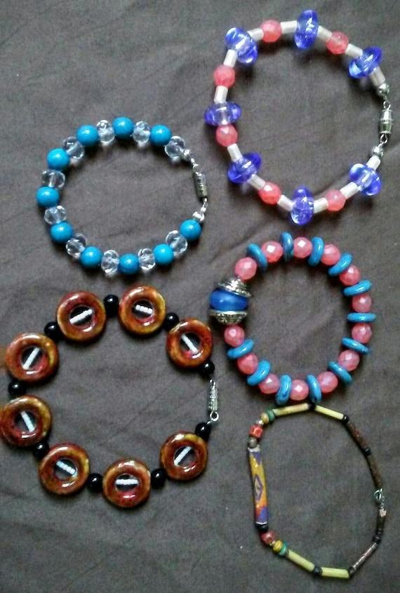 Various Beaded Bracelets