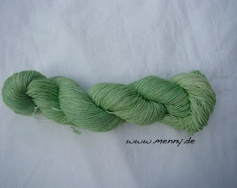 Hand-dyed Lacewolle-extra fine wool and silk - lace