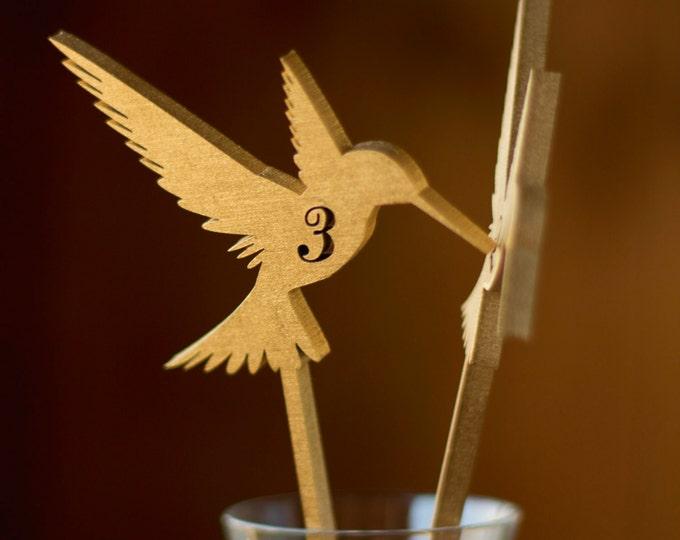 Gold Table Numbers-Table numbers-Gold Table Numbers Wedding-Numbers for tables-Wooden Table Numbers