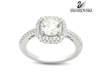 Swarovski Solitaire Ring R1012W