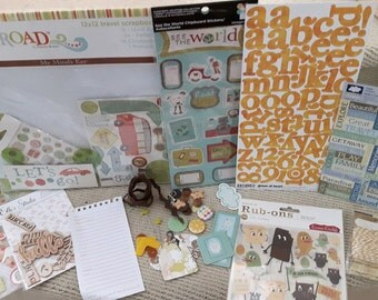 Camping and Travel scrapbooking kit
