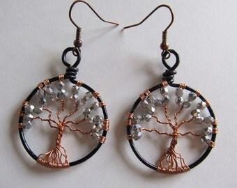 TREE Of LIFE Earrings-Silver