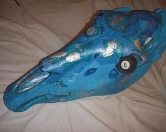 Dipped Horse Skull