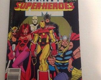Marvel Superhero's- Iron Man- The Avengers- Thor- Comic Book