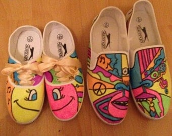 Happy Shoes and Paints