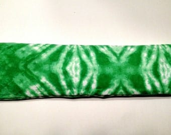 Hot/Cold Rice Pack - Green Tie Dye (001)