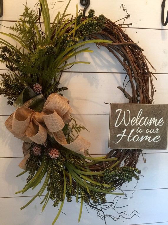 Extra Large Wreath Large Wreath Oval Wreath Door Wreath