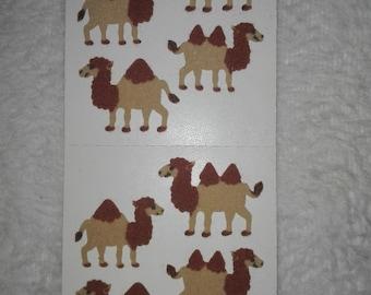 Vintage sandylion sticker stoff fuzzy