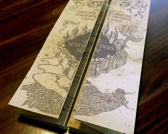 Marauders map Harry Potter