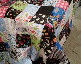 Custom made queen size quilt