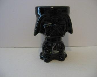 Star Wars Darth Vader Black Ceramic Goblet Cup Coffee Mug By Galerie
