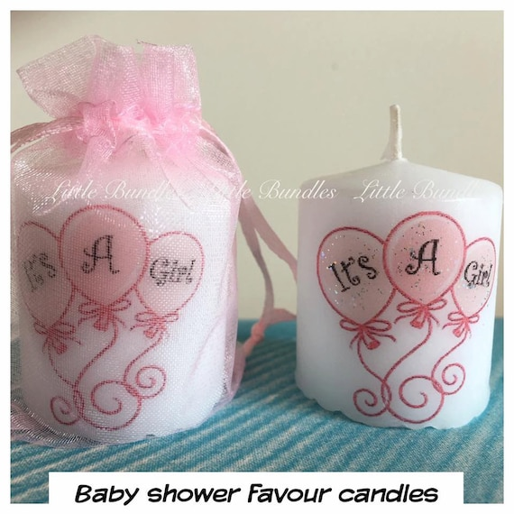 Baby Shower Favors Candles ~ Favour candles baby shower favours girl favor