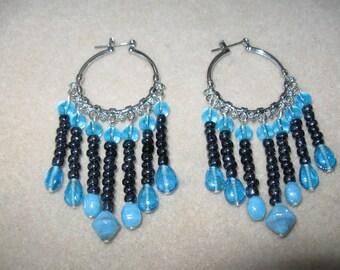 Beaded Drop Earrings E003