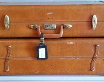 Set of Vintage Samsonite Streamline Suitcase shelves