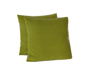 CushyChic Outdoor Slipcovers for Two Dining Pillow Backs in Fern