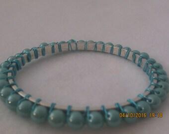 0019-Turquoise Bangle Bracelet